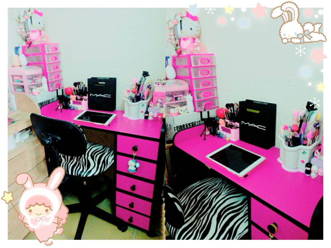 Mi vida como gyaru deco room kawaii ideas para - Como decorar habitacion ...