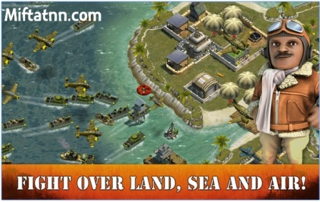 Game Strategi Perang Online Android Battle Islands APK