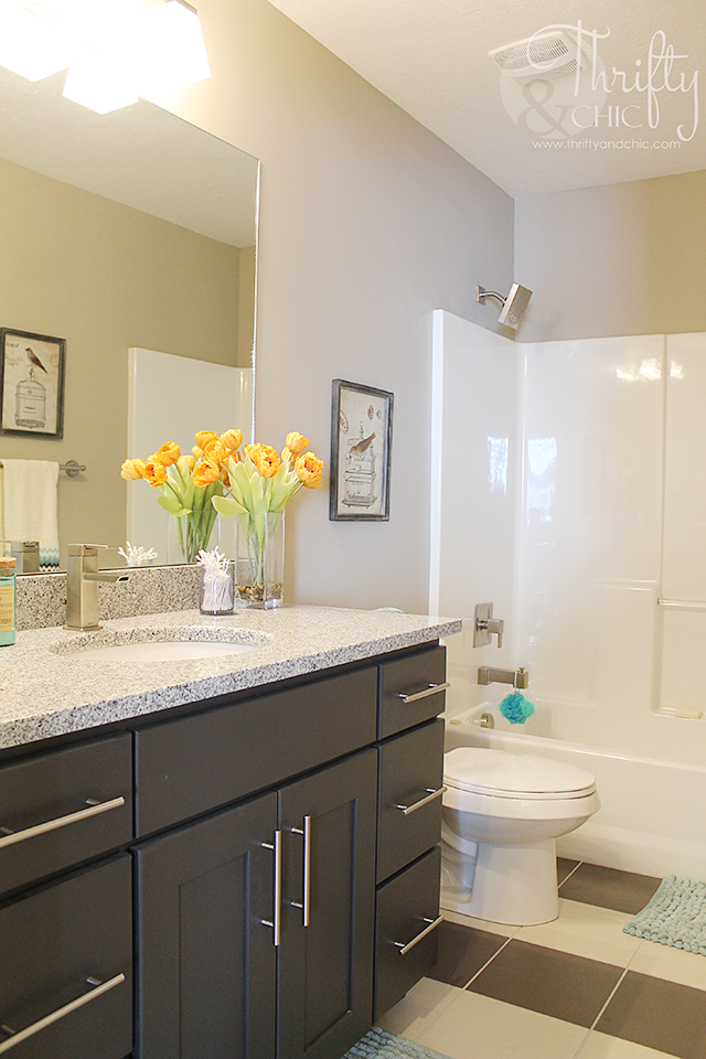 Guest bathroom decor and decorating ideas