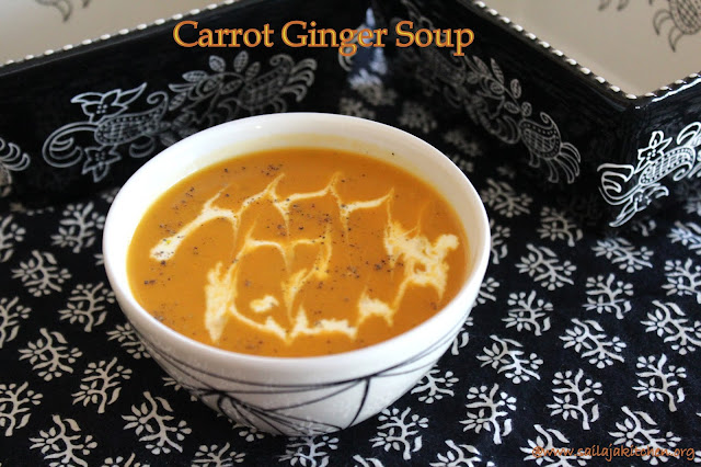 images of Carrot Ginger Soup Recipe / Ginger Carrot Soup Recipe - Healthy Soup Recipes