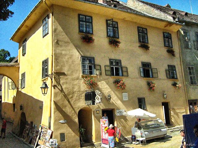 Sighişoara - Casa unde a locuit Vlad Dracul - blog FOTO-IDEEA