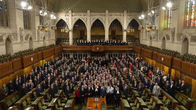 O Parlamento do Canadá será fechado para renovações por 10 anos