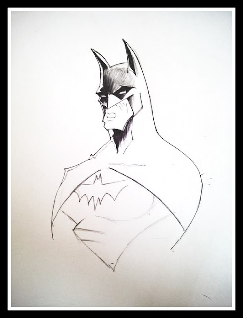 How to Draw Batman Symbol