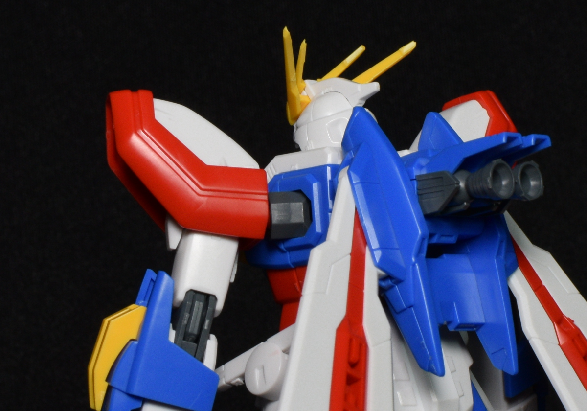Elemental Cheese: Gunpla Review: 1/144 HGFC God Gundam