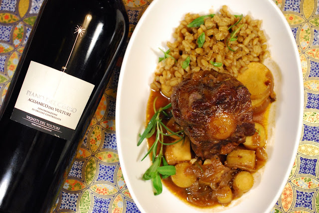 Vigneti del Vulture Aglianico del Vulture with Braised Oxtails by Greg Hudson