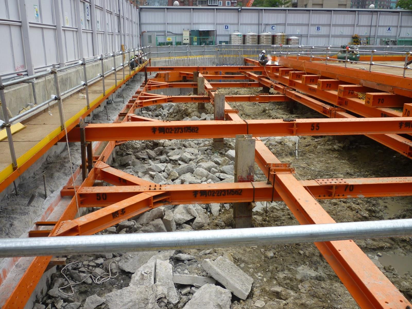 安全擋土支撐+土方開挖