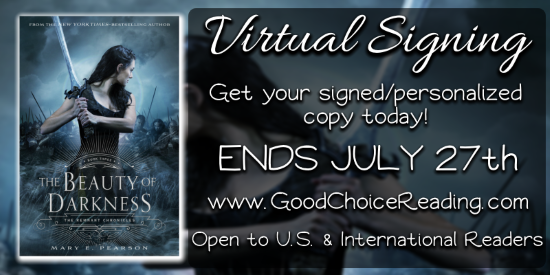 {Bookish News} Virtual Signing for The Beauty of Darkness by Mary E. Pearson