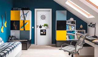 Drzwi wewnętrzne Porta Smart z akcesoriami (haczyki, wieszaki)