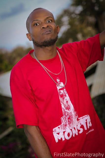 Rapper Monsta Monk| Photo Courtesy| FirstSlatePhotograp