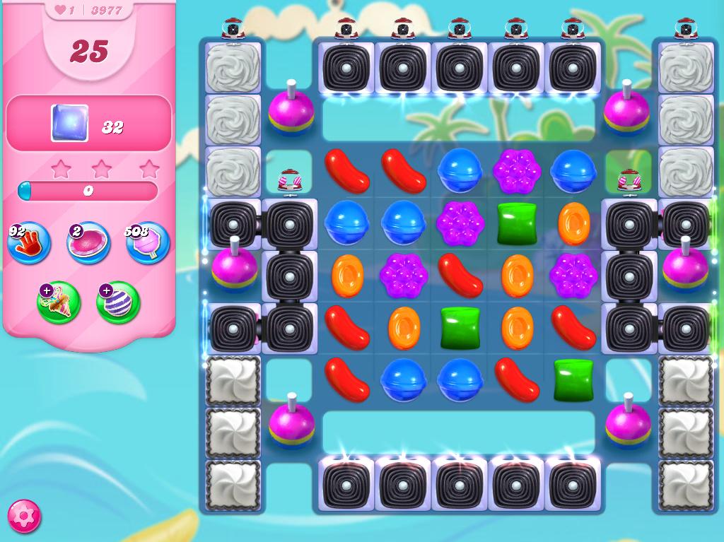 Candy Crush Saga level 3977