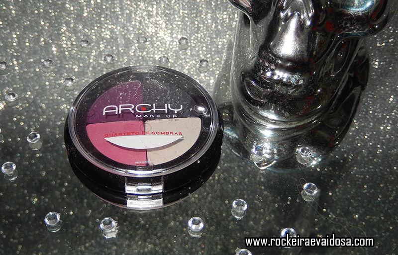 Quarteto de sombra Archy Make up.