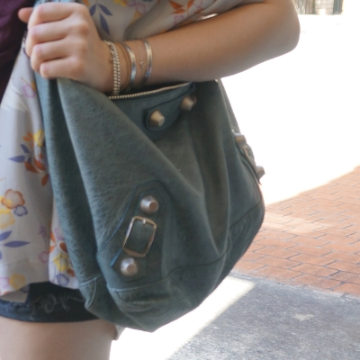 Balenciaga tempete giant hardware Day bag | AwayFromTheBlue