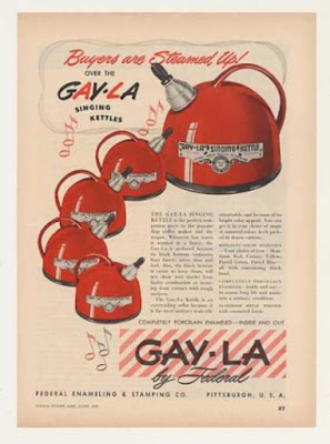 Gay-LAa Singing Kettles