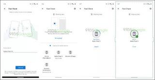 غوغل تعلن عن تطبيق Fast Share لمشاركة و نقل الملفات بين للأجهزة بسرعة كبيرة وبدون أنترنت