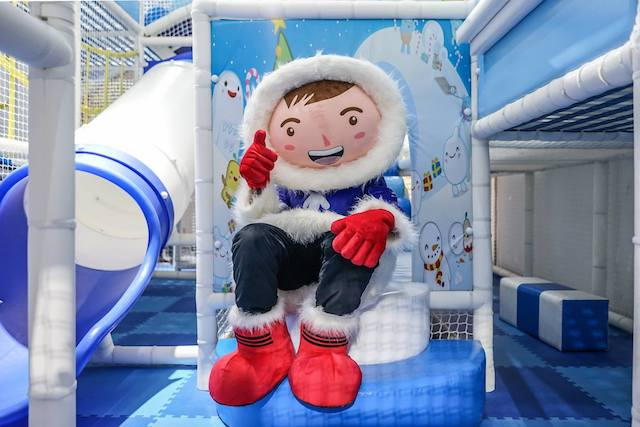 Meet Eskimo, DreamWorld's mascot.