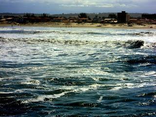 Praia do Rincão Vista da Plataforma de Pesca