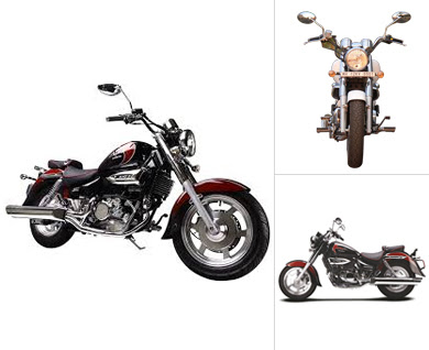 New Hyosung Aquila 250 three types look