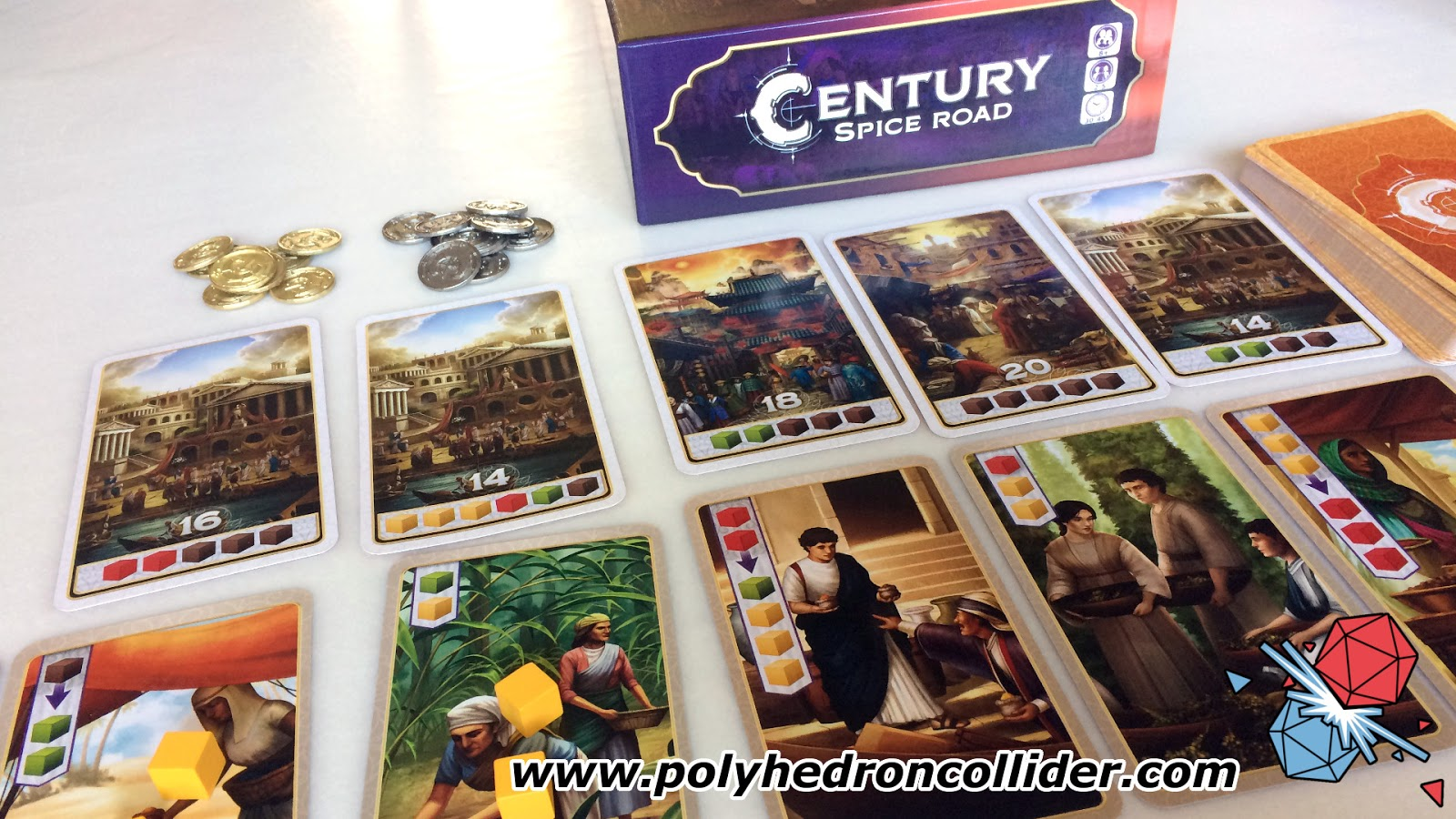 Century Spice Road review deck builder