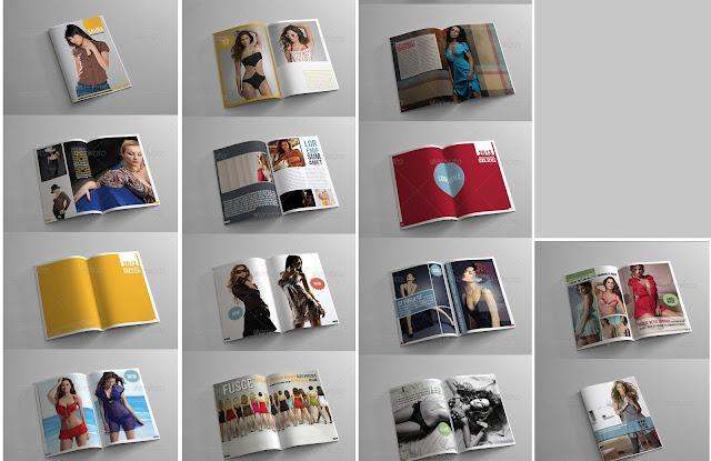 in catalogue người mẫu