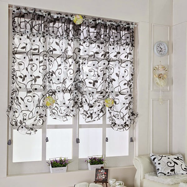 Interior Decor Plus: Best BEAUTIFUL CURTAINS IN THE KITCHEN