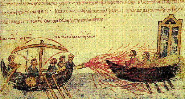 Bom napalm Byzantium