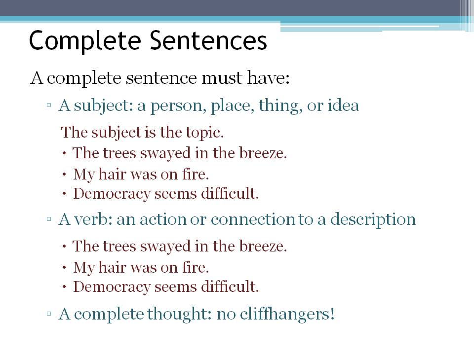 Printable Worksheets fragments and run-on sentences worksheets : English and ESOL Lab Workshops: Fragments and Run-Ons (Jessica Quinn)