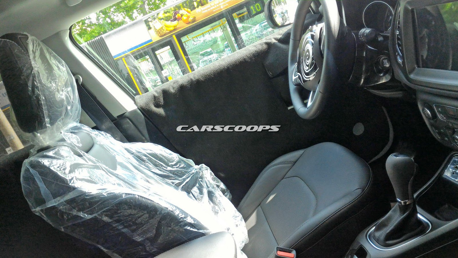 2017 Jeep Compass Patriot Replacements Interior Exposed