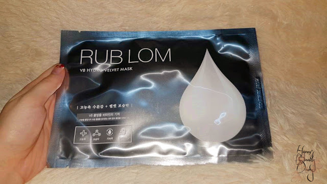 Review; RUB LOM's V8 Hydro Velvet Mask + First Impression