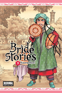 "Manga: Reseña de ""Bride stories #9"" de Kaoru Mori - Norma editorial"