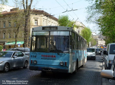 Trolejbus Škoda 14Tr #538, Lwów