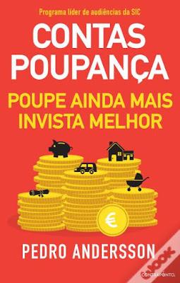 #Livros - Contas-Poupança, de Pedro Andersson
