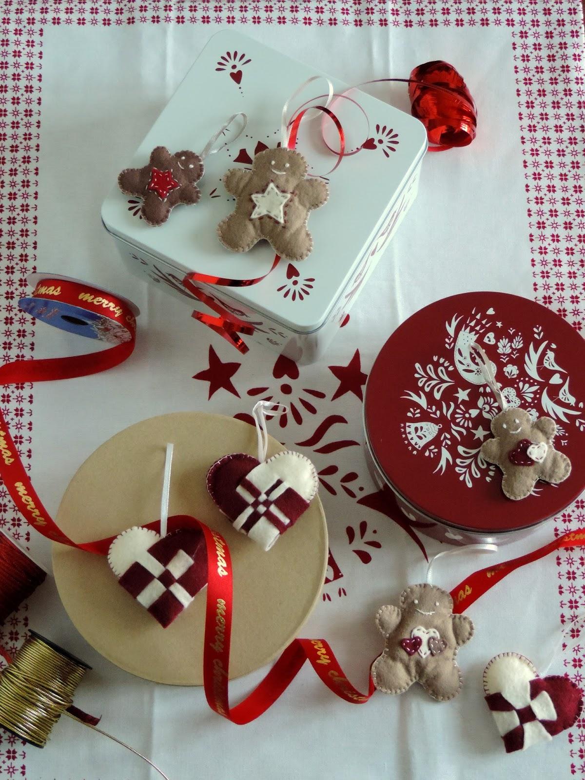 A Dieta Da Lunedì Addobbi Di Natale In Feltro Non Le Solite Palle