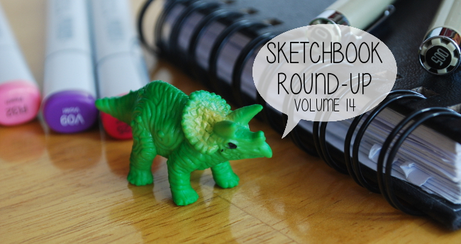 Sketchbook Round-Up: Volume 14 | Yeti Crafts