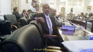 لجنة التعليم فى مجلس النواب , ادارة بركة السبع التعليمية,الحسينى محمد,الخوجة