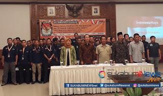Komisi Pemilihan Umum (KPU) Kabupaten Sukabumi menggelar Rapat Pleno Rekapitulasi dan Penetapan Daftar Pemilih Tambahan (DPTb) tahap 2 untuk pemilihan umum (pemilu) 2019.