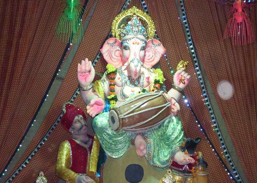 Mikeliveira 39 S Space Ganesh Chaturthi 2012 Decoration Ganpati Decoration Ideas For Home