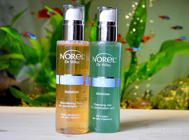Codzienna pielęgnacja z Norel - Żel myjący i Tonik normalizujący Antistress