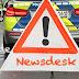 Mücke: Verkehrsunfall mit eingeklemmter Person