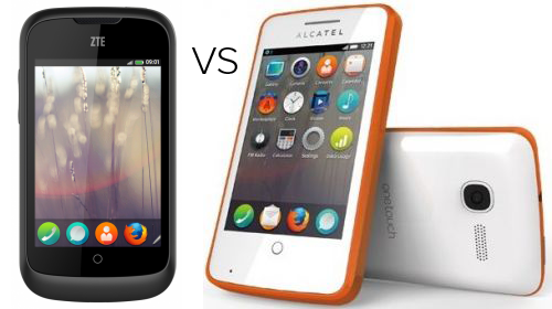 ZTE Open vs Alcatel One Touch Fire - Which is Best Firefox