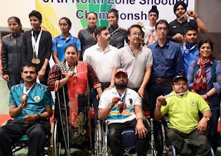 North Zone Shooting Championship Concluded with Highest Number of Participants in Delhi