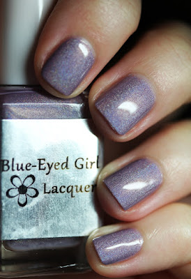 Blue-Eyed Girl Lacquer BEGL Valentine's Day Prototype nail polish