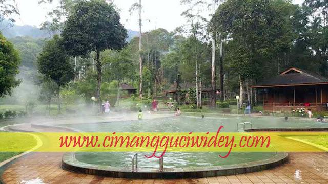 Kolam air panas Cimanggu buka 24 jam