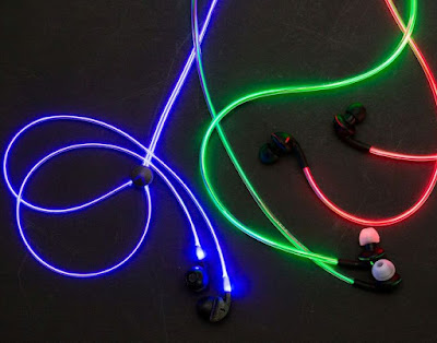 Laser Light earphone