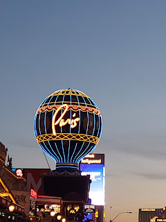 Montgolfier Balloon at Paris Hotel Las Vegas Nevada