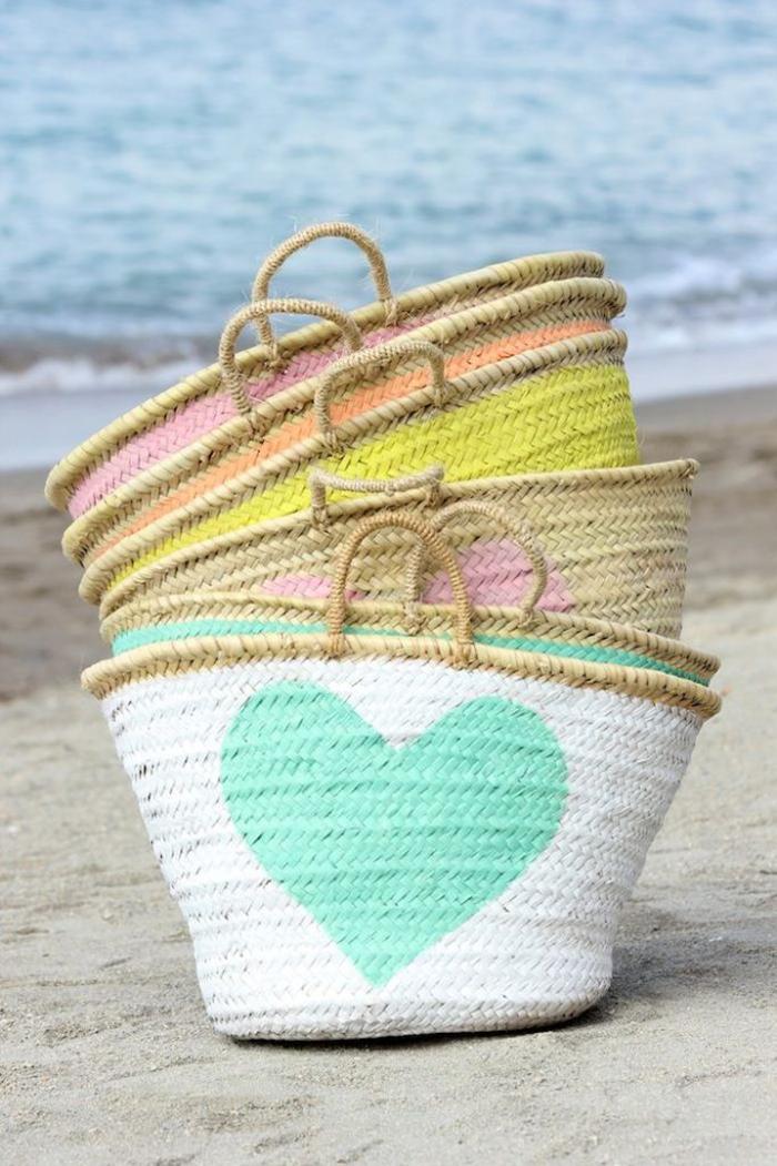 borse spiaggia paglia