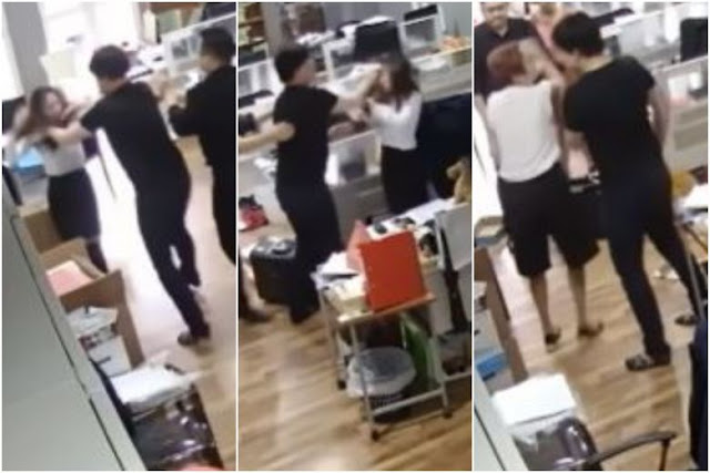 Samuel Seow - Losing control and assaulting a much smaller lady