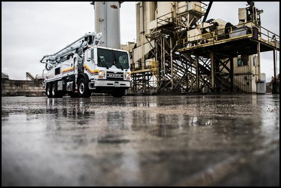 Mack TeraPro Concrete Pumper Truck