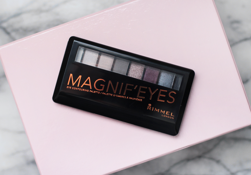 Rimmel magnif'eyes eyeshadow palette review swatches