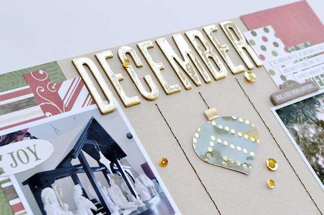 Document 2015 | December scrapbook workshop taught by Aly Dosdall for Big Picture Classes #scrapbookingclass #scrapbookworkshop