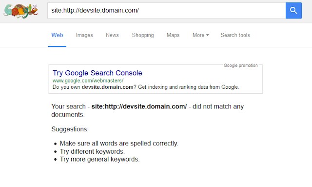 Check if a site is indexed by Google